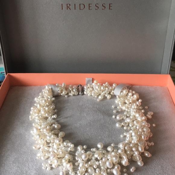 532e20ce8 Iridesse multi strand pearl necklace. M_5b392ae5aaa5b8f307dc709b